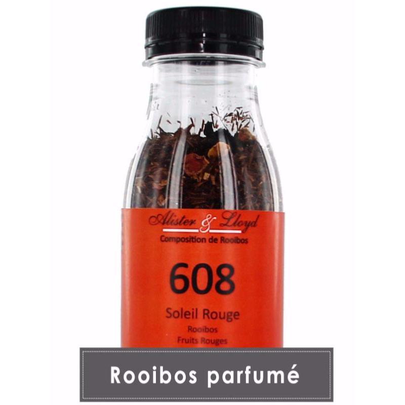Rooibos en vrac parfumé aux fruits rouges - Hop Café