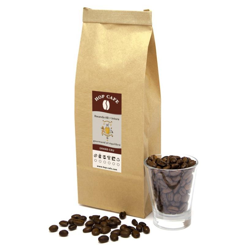caf en grains pure origine du rwanda. Black Bedroom Furniture Sets. Home Design Ideas